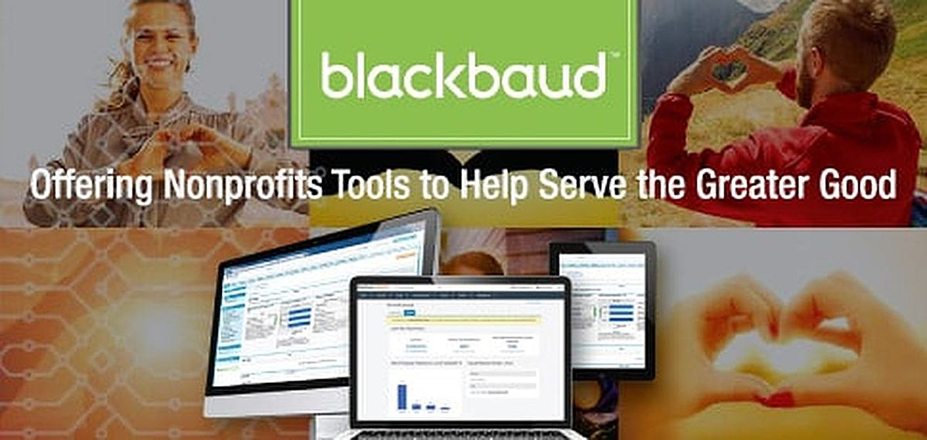 Blackbaud Meets Nonprofits at the Intersection of Technology and Philanthropy — Connecting Them with Software to Serve the Greater Good