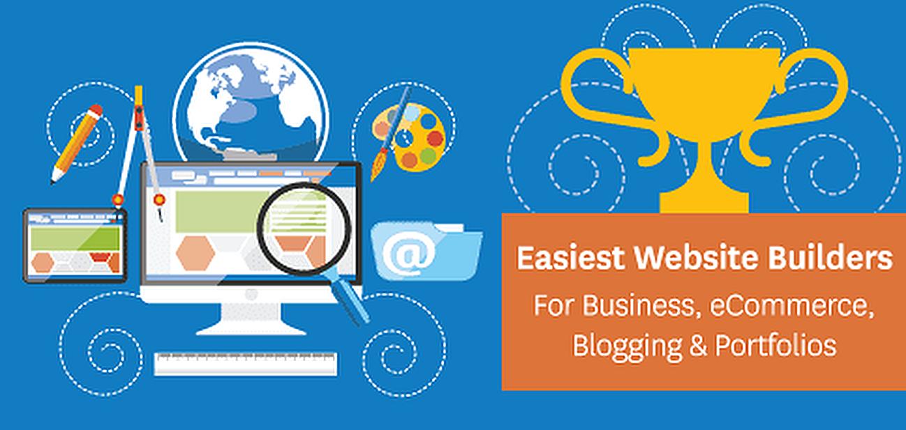 #1 Easiest Website Builder 2018 (For Business, Blogging, eCommerce, etc.)
