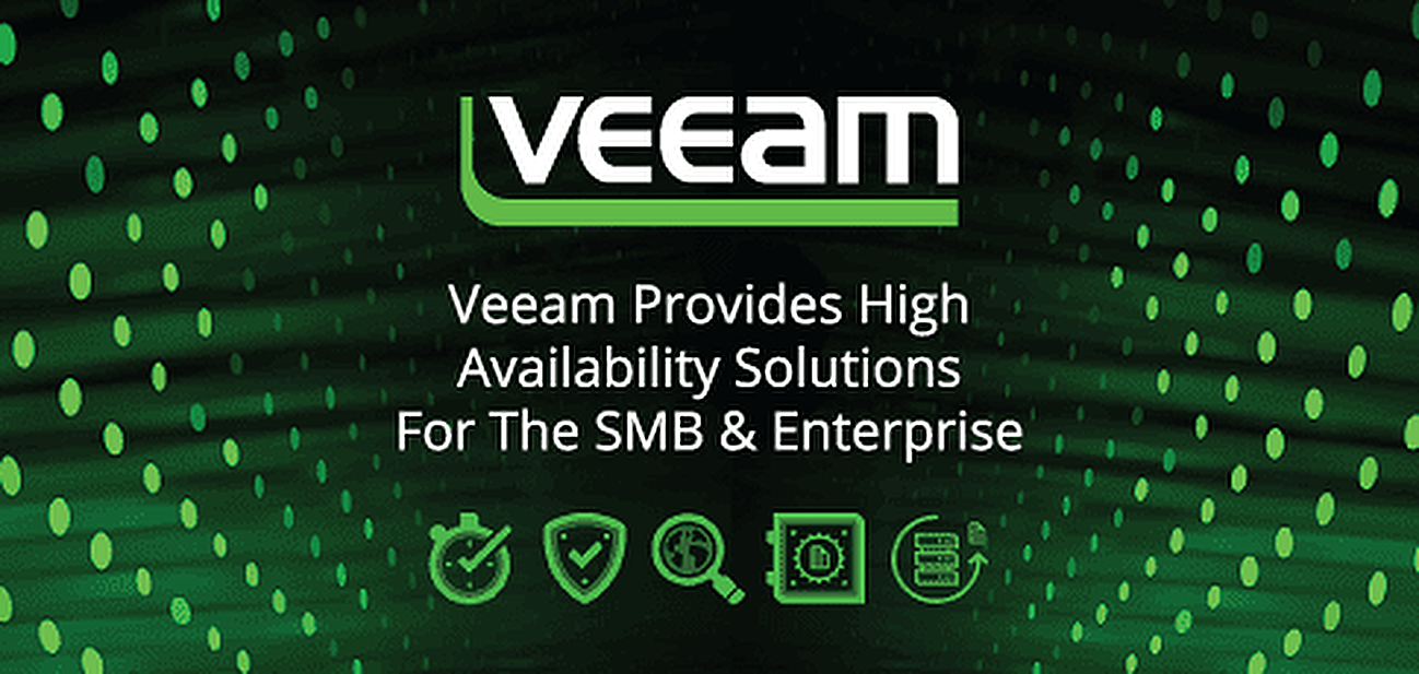 Veeam Provides High Availability Solutions for the SMB & Enterprise