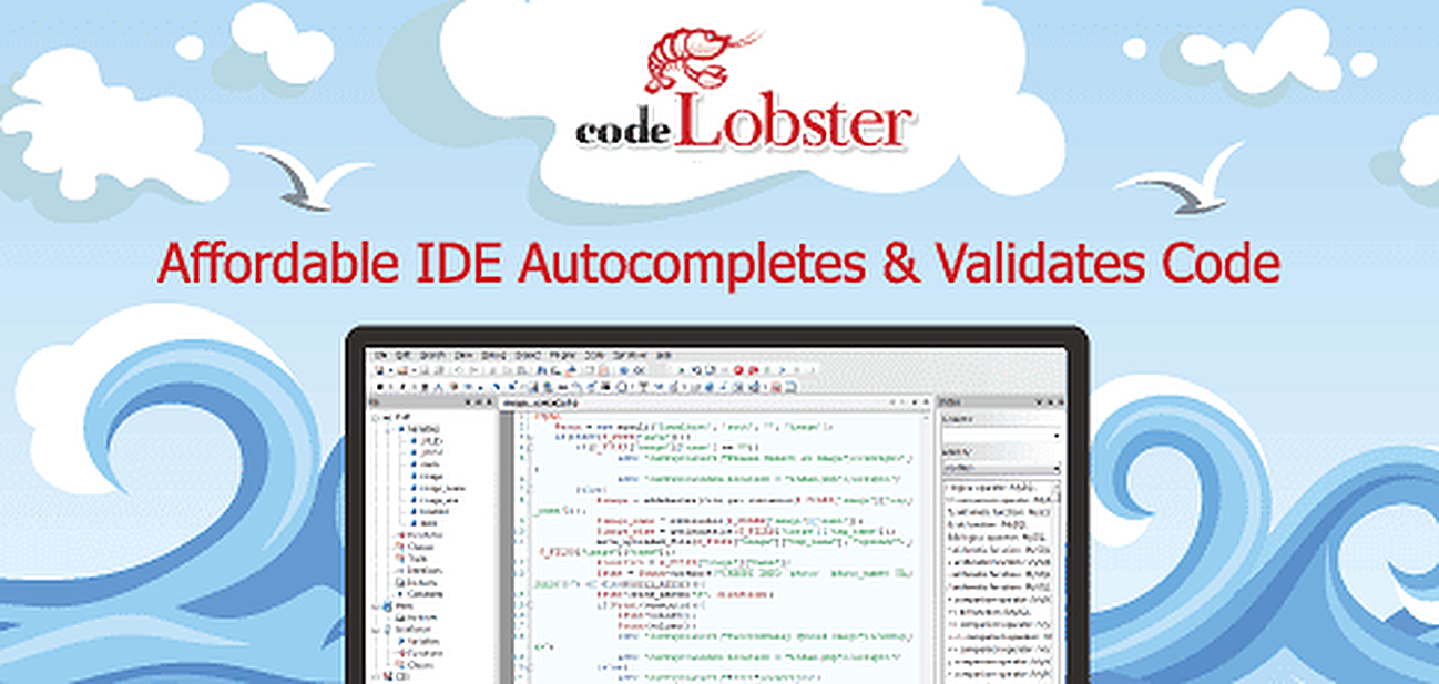Affordable IDE CodeLobster Autocompletes, Debugs, and Validates Code