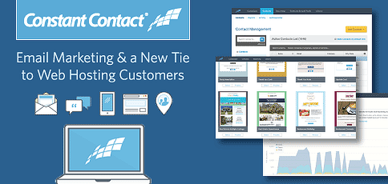 Constant Contact: Email Marketing and a New Tie to Web Hosting Customers