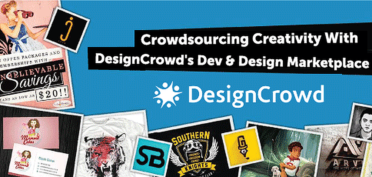 How DesignCrowd Allows Freelancers to Find Meaningful Work and Provides Companies with Crowdsourced Creativity