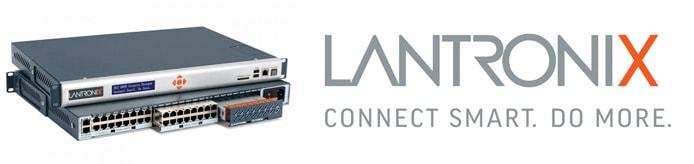 Image of SLC 8000 and Lantronix logo