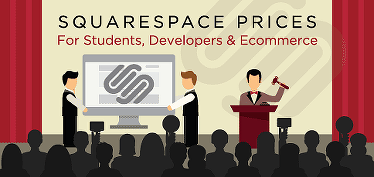 Graphic for guide to Squarespace pricing