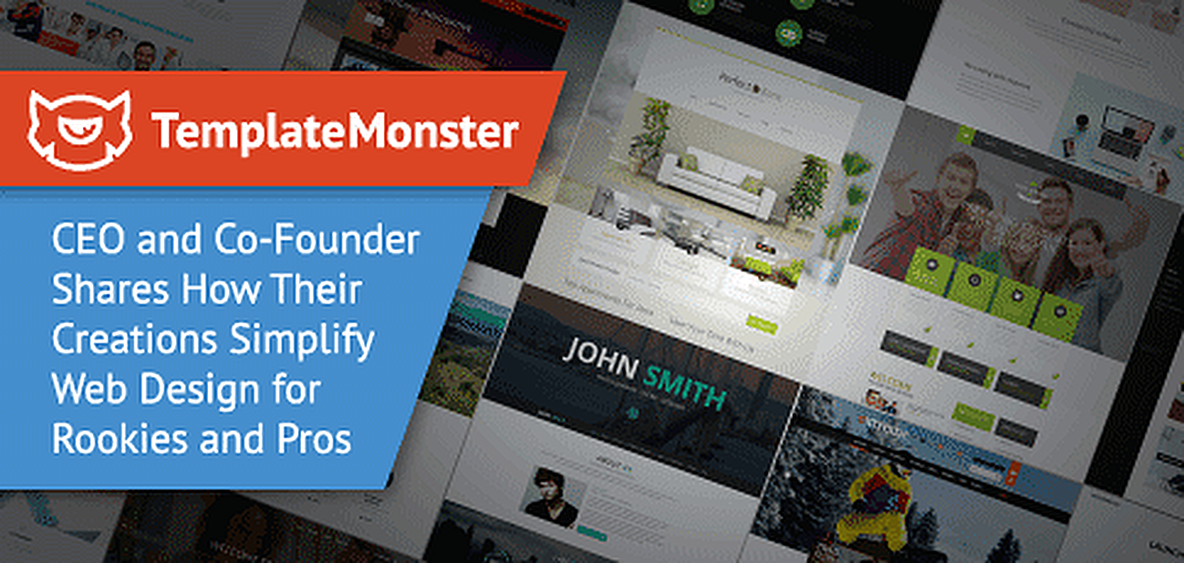 TemplateMonster themes simplify web design for rookies and pros