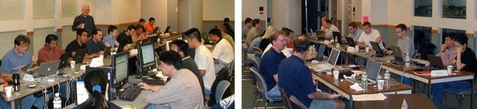 Photos from WebDAV interoperability testing