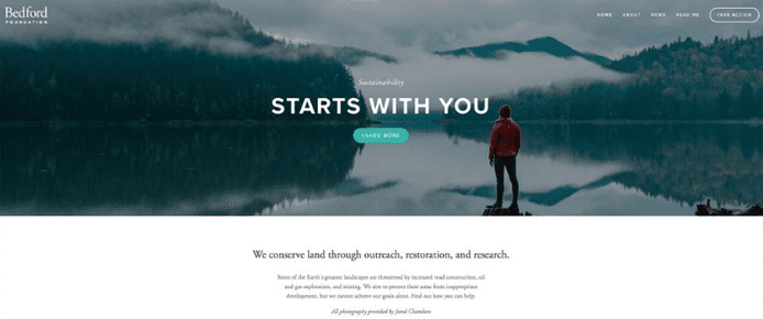 10 best squarespace templates for blogs videos photographers screenshot of squarespaces bedford template pronofoot35fo Gallery