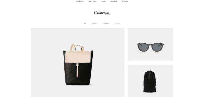 10 best squarespace templates for blogs videos photographers screenshot of squarespaces galapagos template pronofoot35fo Gallery