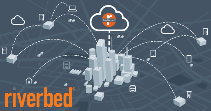 Graphic of a city and cloud pumping data and applications to remote locations