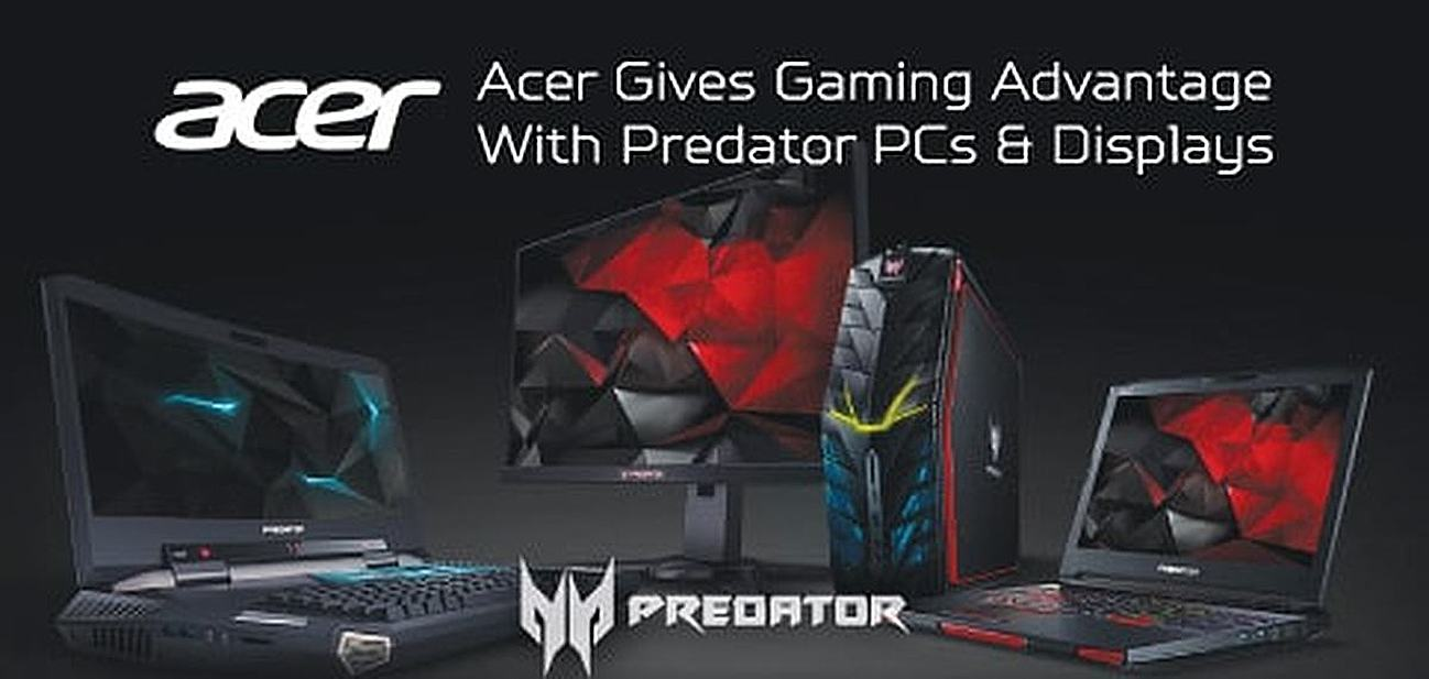 Acer give Gaming Advantage With Predator PCs & Displays