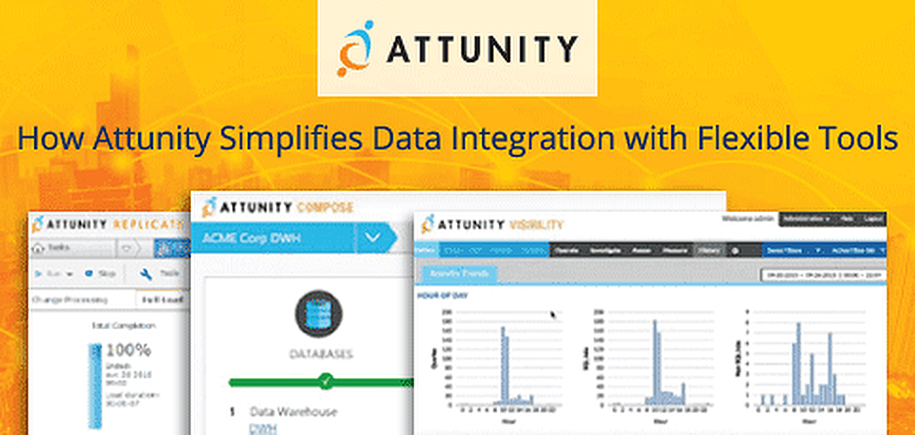 How Attunity Simplifies Data Integration With Flexible Tools