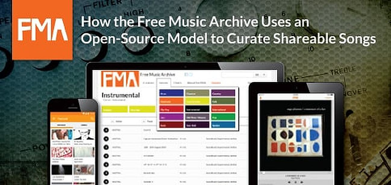 How the Free Music Archive Uses an Open-Source Model to Curate Shareable Songs