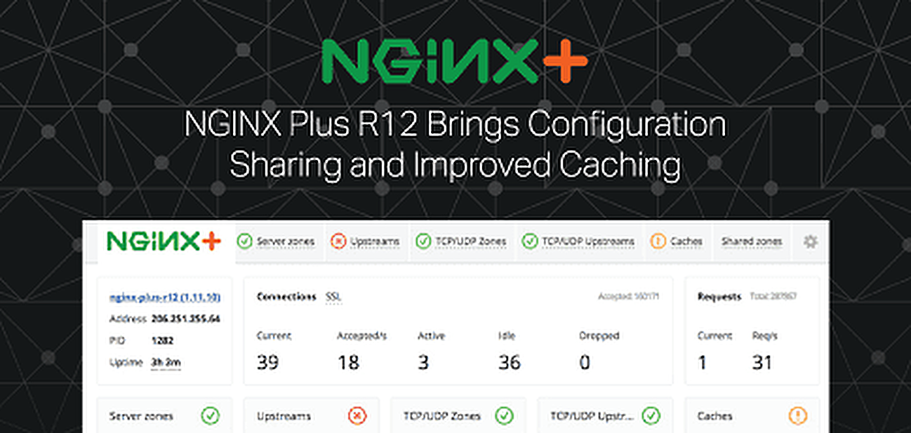 NGINX Plus R12 Brings Configuration Sharing and Improved Caching