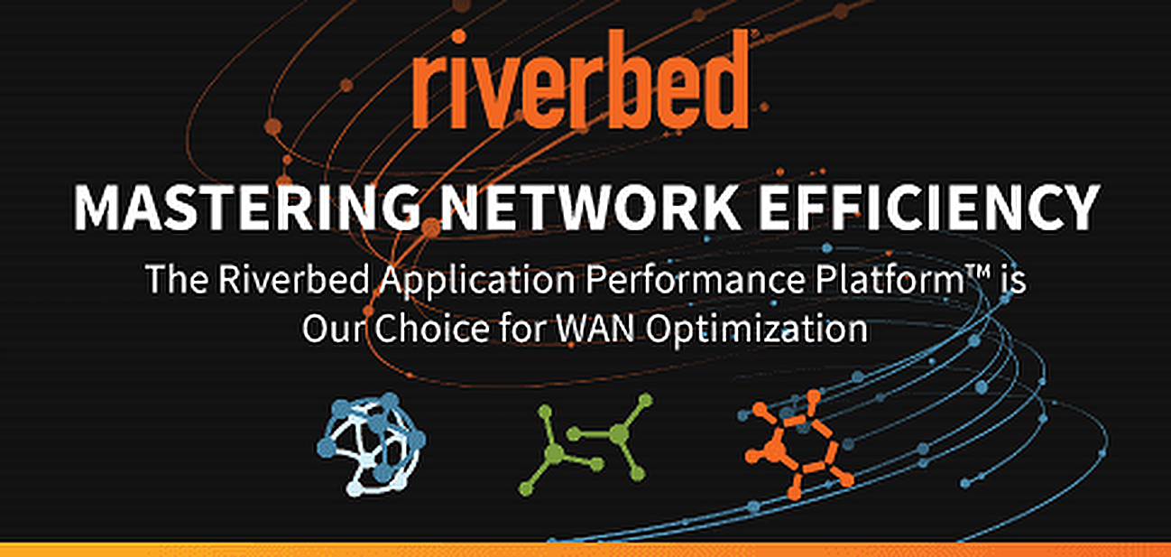 Helping Enterprises Master Network Efficiency: The Riverbed Application Performance Platform™ is Our Choice for WAN Optimization