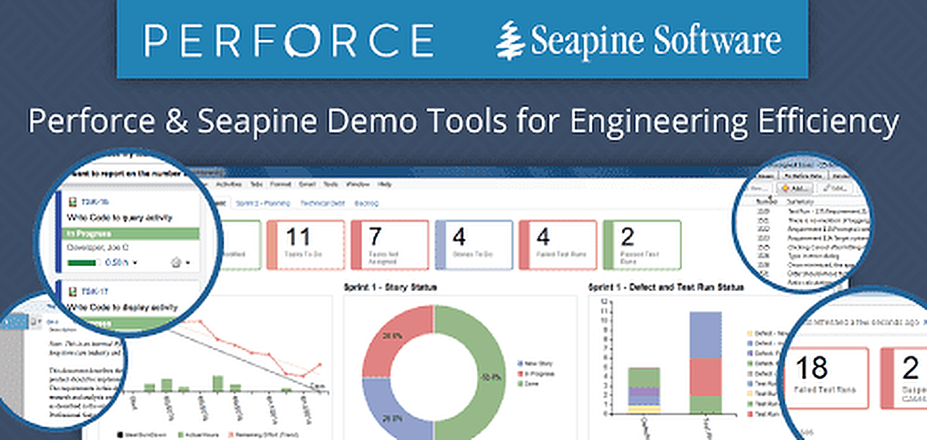 Perforce and Seapine Demo Tools for Engineering Efficiency
