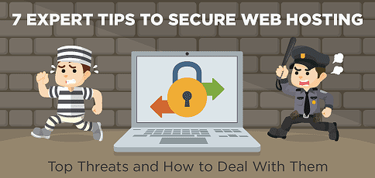 Top web hosting security threats and how to deal with them