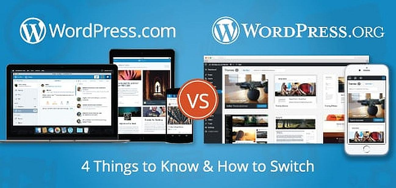 4 Things to Know About WordPress .com or .org
