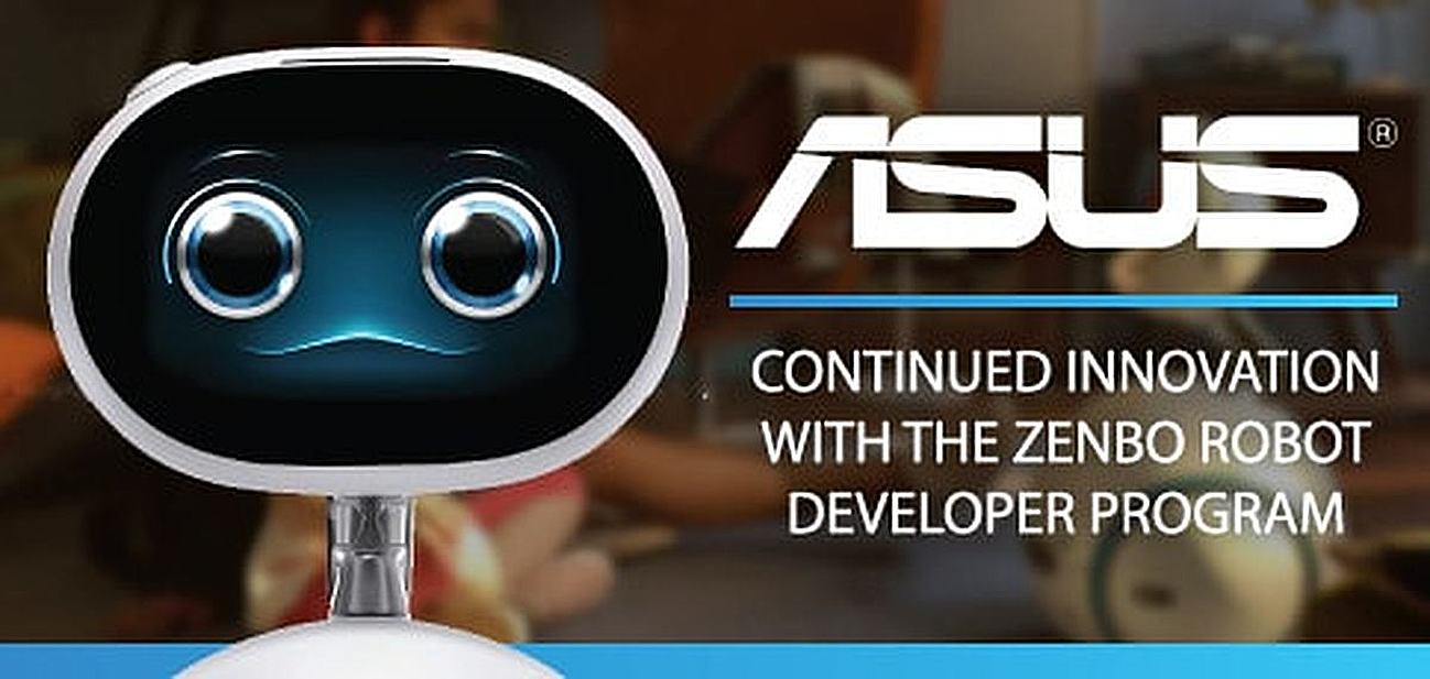 ASUS: The 30-Year Focus on Award-Winning Electronic Innovation Continues With the Zenbo Robot Developer Program