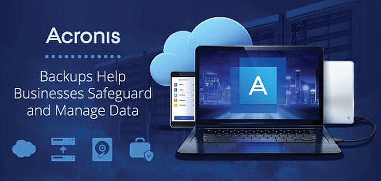 Acronis Backups Help Businesses Safeguard and Manage Data