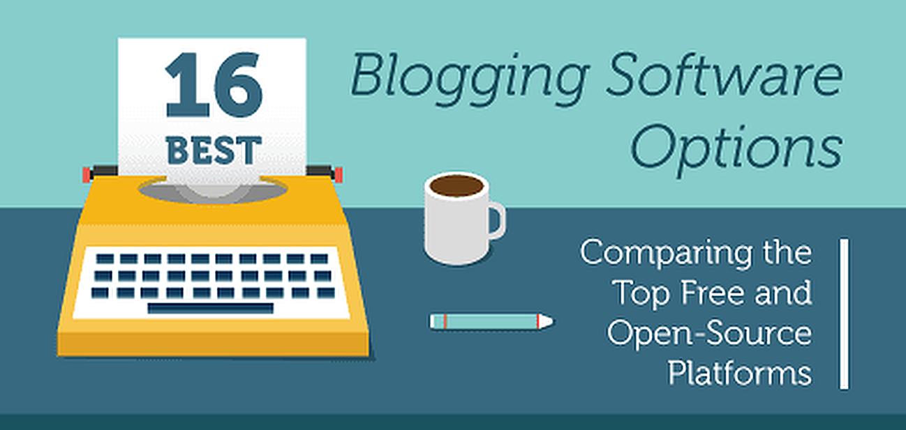 16 Best: Blog Software Comparison (Free / Open-Source Tools)