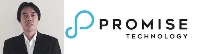Collage of Jason Pan's headshot and Promise logo