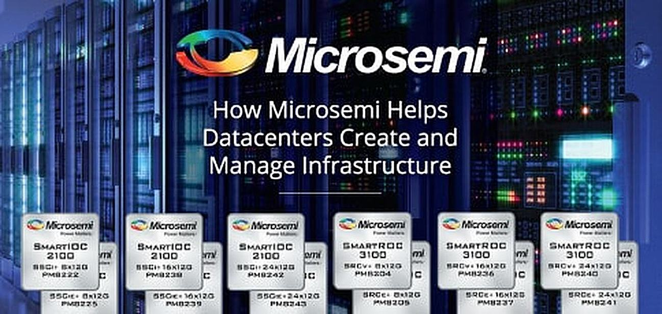 How Microsemi SoC Solutions Help Datacenters Create and Manage a More Efficient Infrastructure with Integrated Caching, Analytics, and Storage