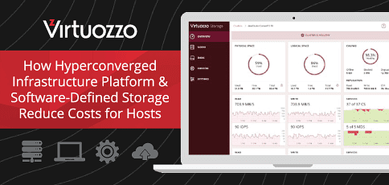 How Virtuozzo Continues to Reduce Costs for Hosts Through a Hyperconverged Infrastructure Platform & Software-Defined Storage