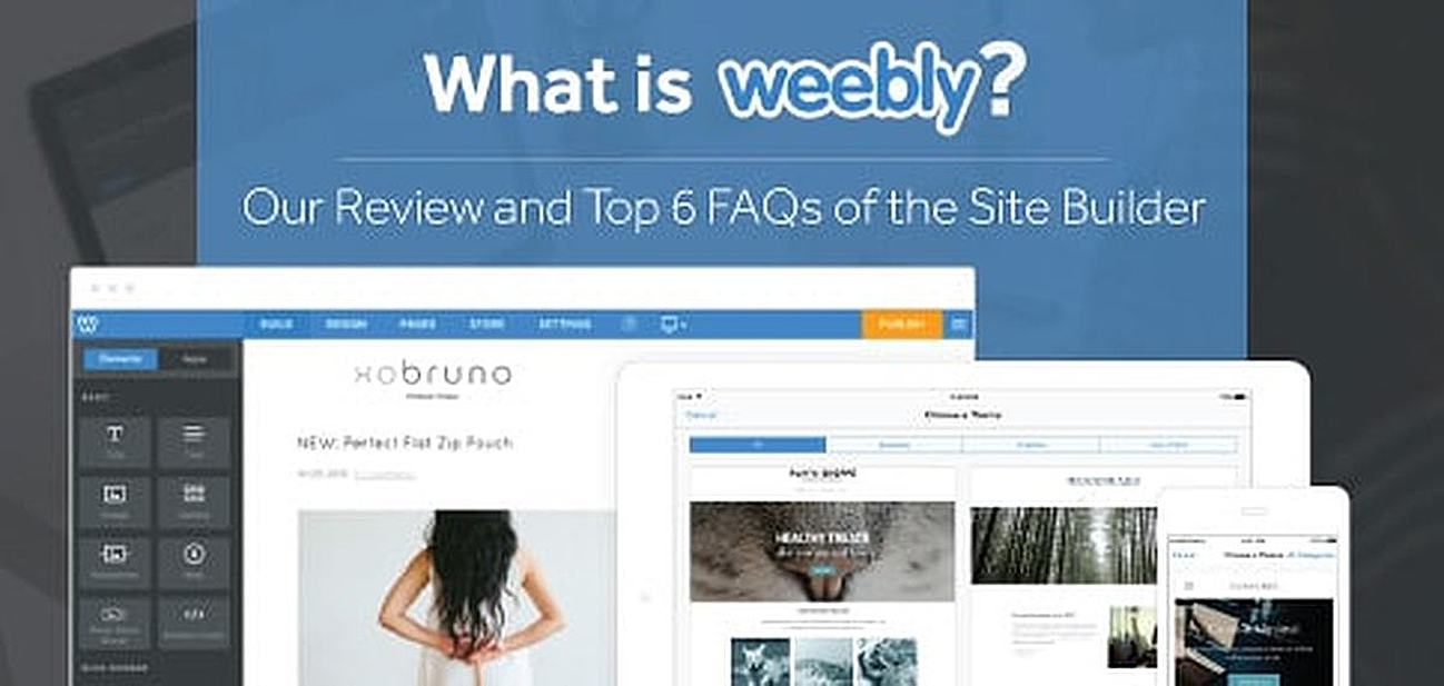 "What is Weebly.com?"" (Top 6 FAQs) - 2021 Review | HostingAdvice.com"
