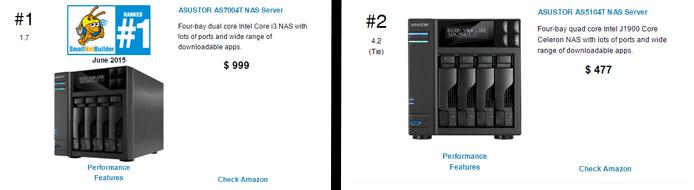 Screenshot of SmallNetBuilder product reviews