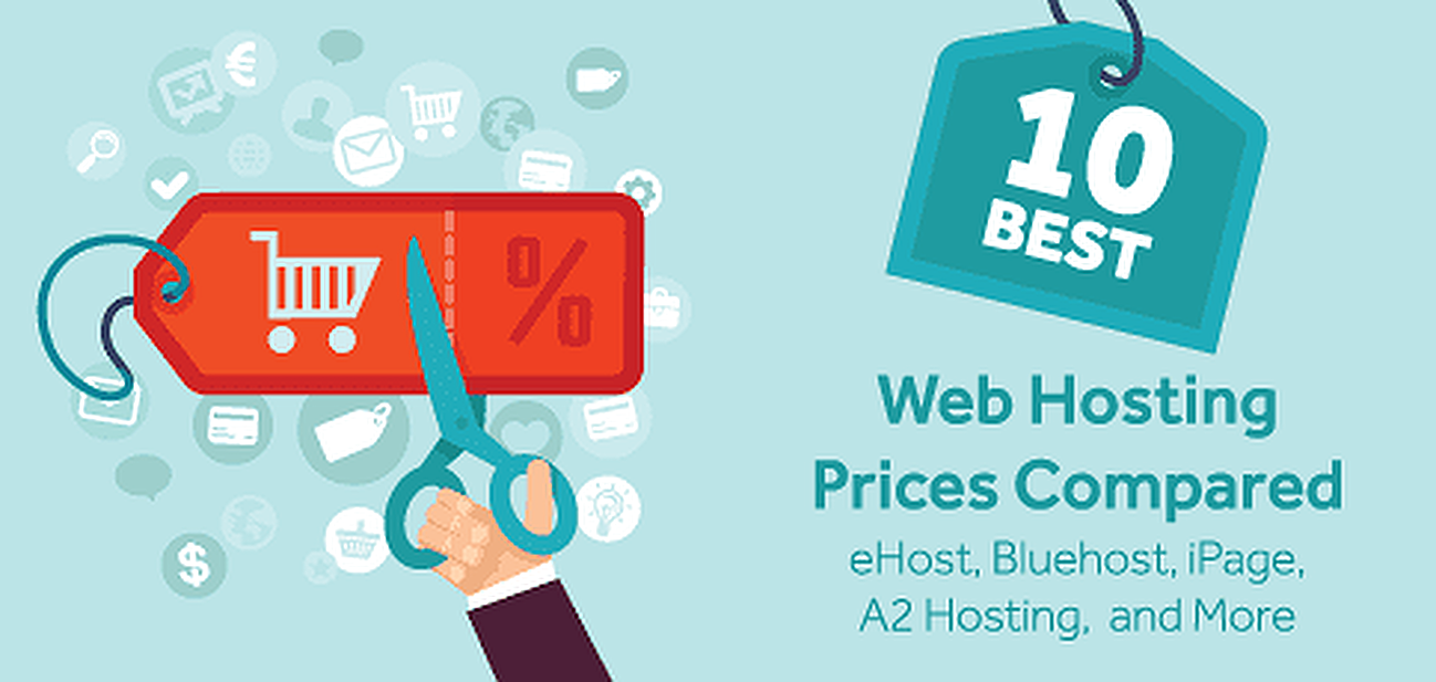 10 Best Web Hosting Prices Compared (Amazon, Google, Wix, etc.)