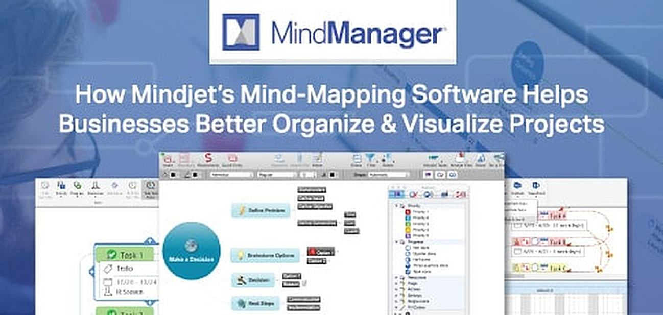 How Mindjet's Mind-Mapping Software Empowers Businesses to Better Visualize Processes, Coordinate Projects, and Increase Productivity
