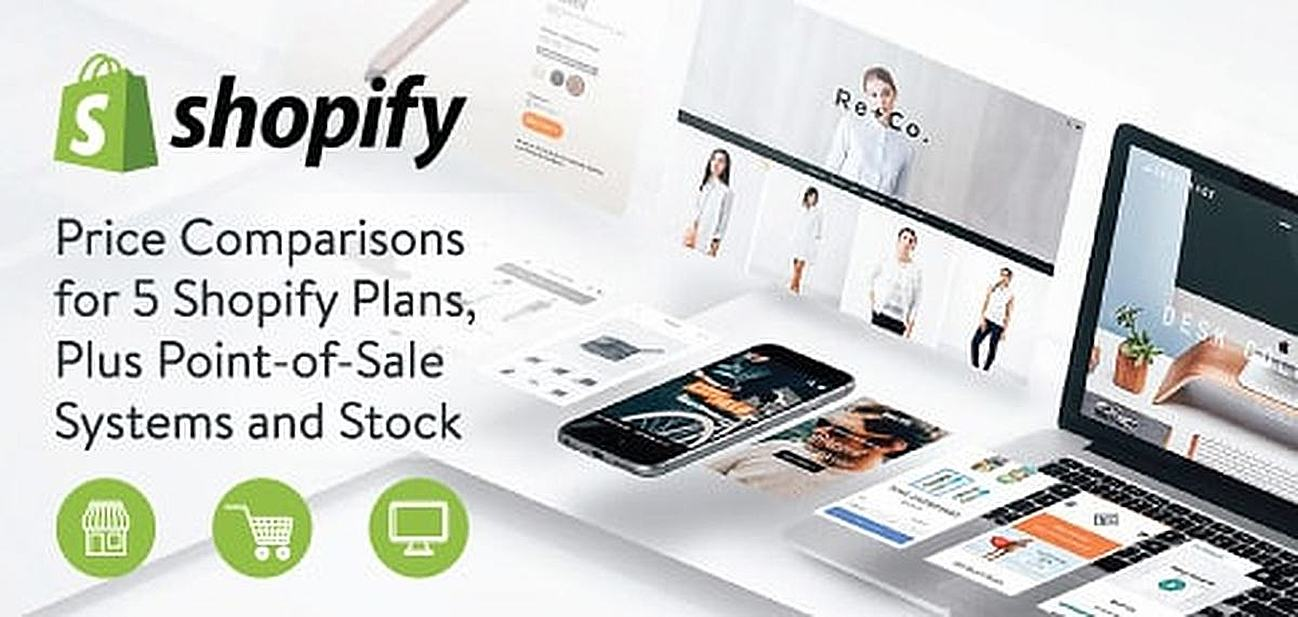 Price Comparisons for 5 Shopify Plans