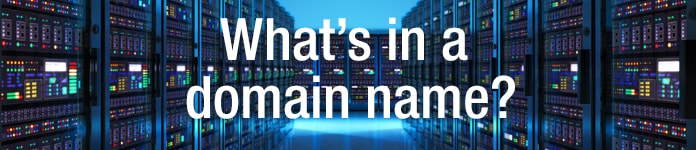 What's in a domain name