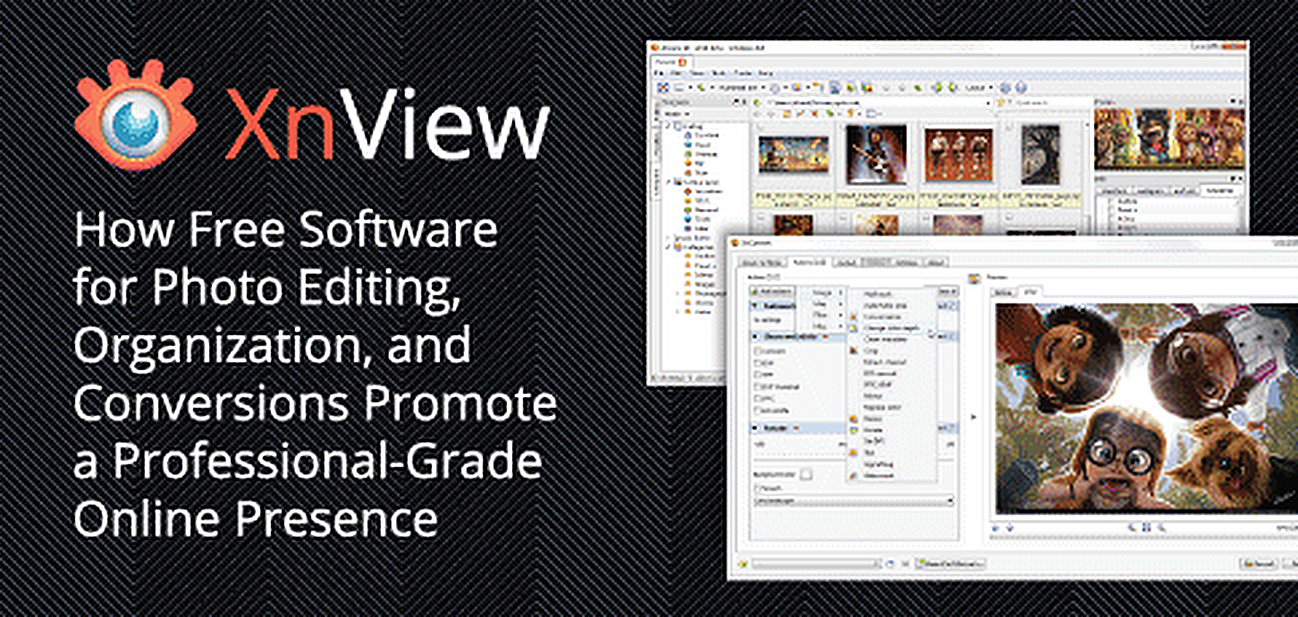 XnView's Free Software for Photo Editing and Organizing