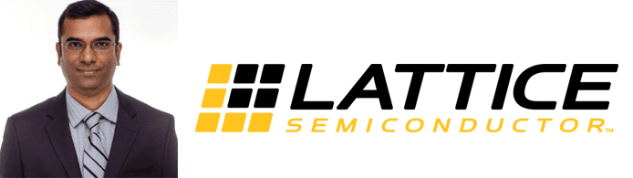 Deepak Boppana's headshot and Lattice Semiconductor logo