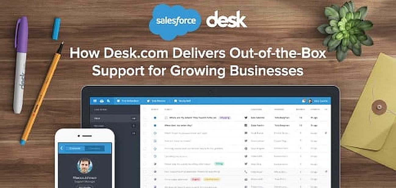 How Desk.com Delivers Out-of-the-Box Support for Growing Businesses