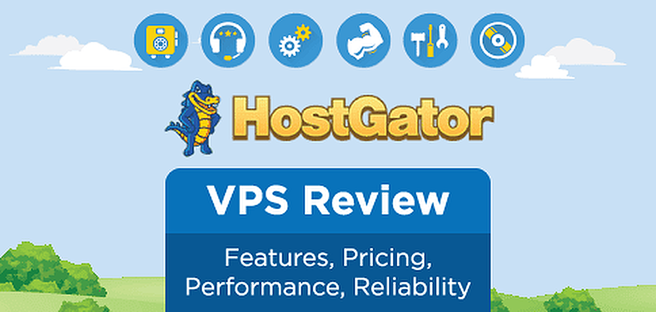 HostGator VPS review graphic
