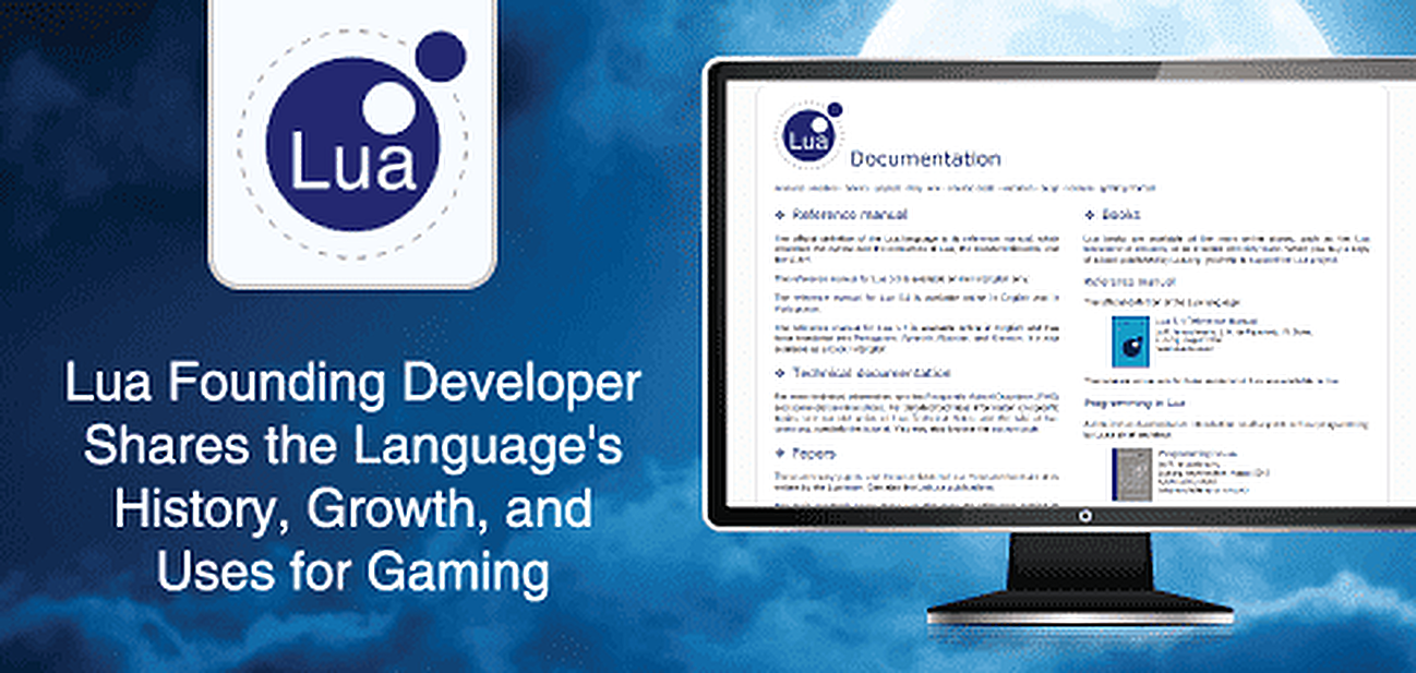 Lua Developer Shares the Language's Journey and Growth