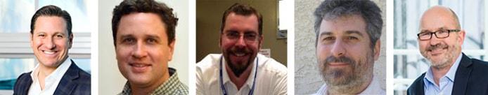 Photos of EnterpriseDB and Postgres leaders