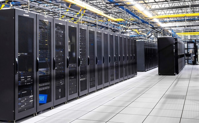 Photo of WebHost.Pro's datacenter