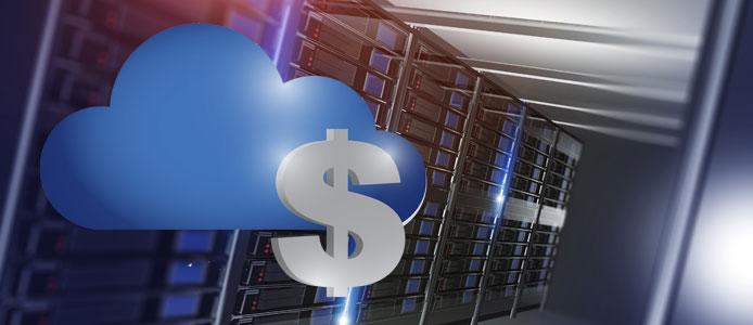 Cheap cloud server graphic