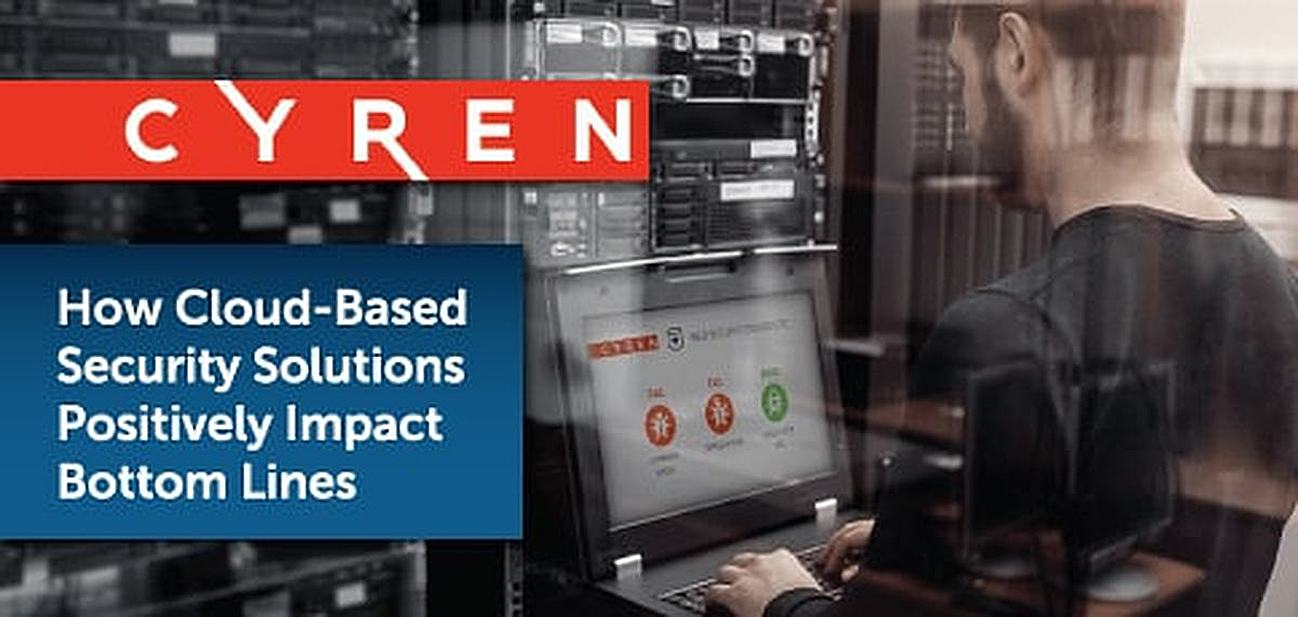 How Cyren's 100% Cloud-Based Security Solutions Are Saving Businesses Time & Money Through Lightning-Speed Threat Identification & Mitigation