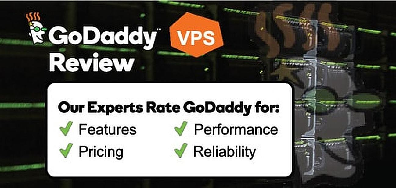Our experts rate GoDaddy for Features, Performance, Pricing, and Reliability