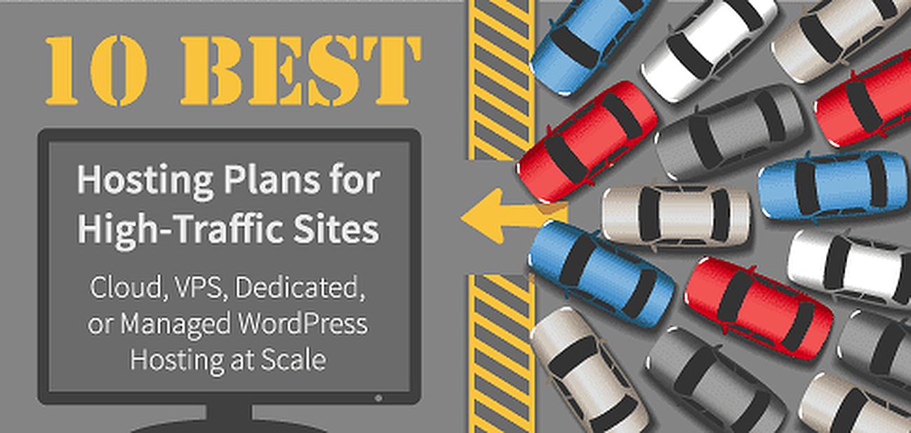 10 Best: Hosting for High-Traffic Sites