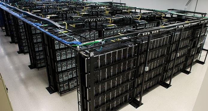 Image of Liquid Web servers and datacenter
