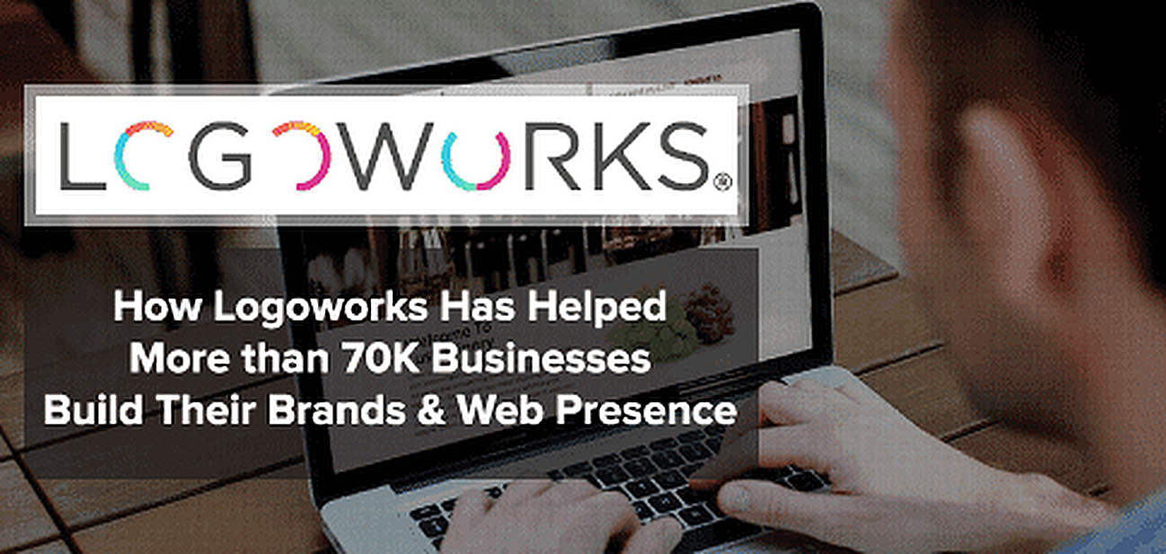 How Logoworks and Its Community of Designers Has Helped Build the Brands and Web Presences of More Than 70K Businesses Worldwide