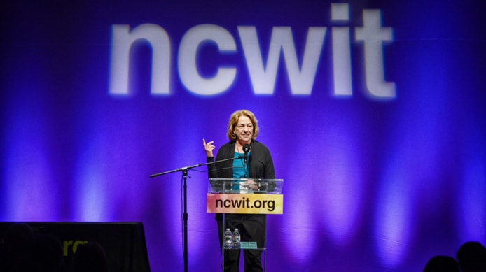 Photo of NCWIT CEO and Co-Founder Lucy Sanders