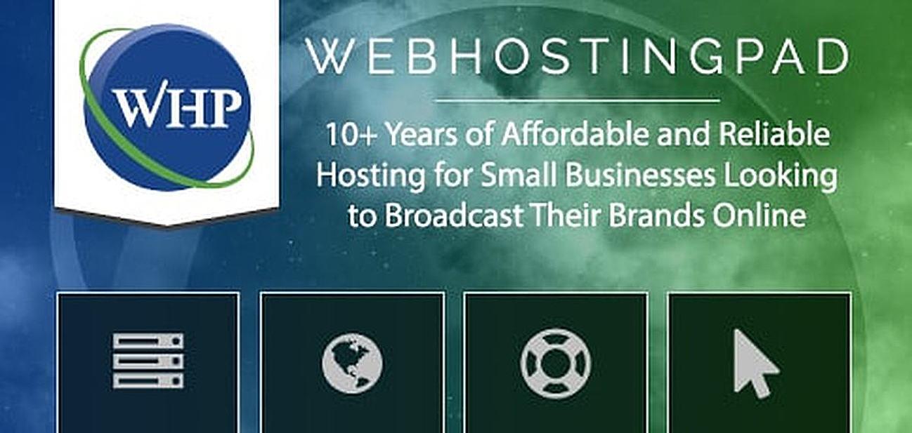 WebHostingPad: 10+ Years of Providing Affordable and Reliable Hosting for  Small Businesses Looking to Broadcast Their Brands Online -  HostingAdvice.com | HostingAdvice.com