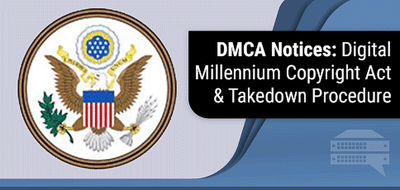 digital millennium copyright act dmca notice
