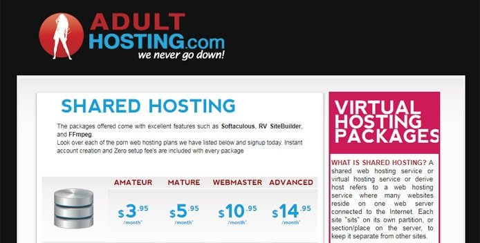 free hosting domain Adult